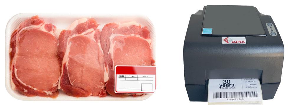 etichetta per carne, etichette settore food