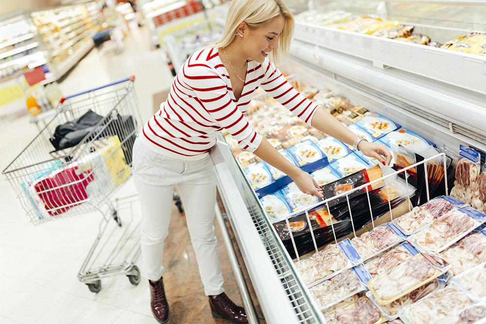 etichette per settore food,etichette per prodotti congelati o surgelati