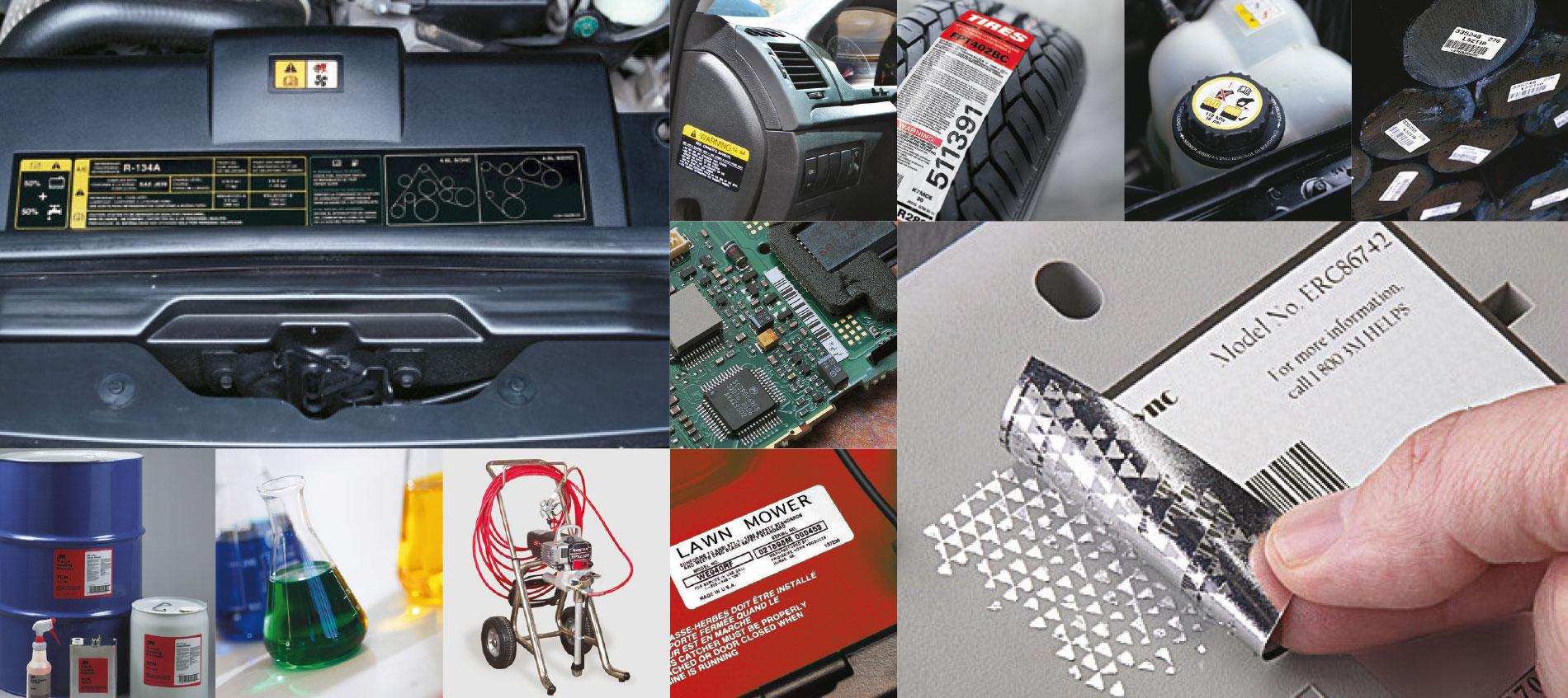 Etichette per la produzione industriale