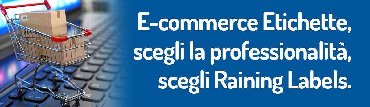 raining labels ecommerce