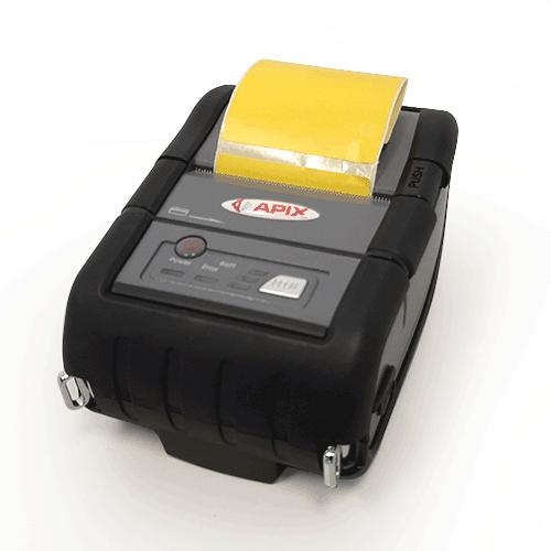 Confezione da 250 rotoli di etichette termiche gialle 50×50 mm anima da 25mm - 3