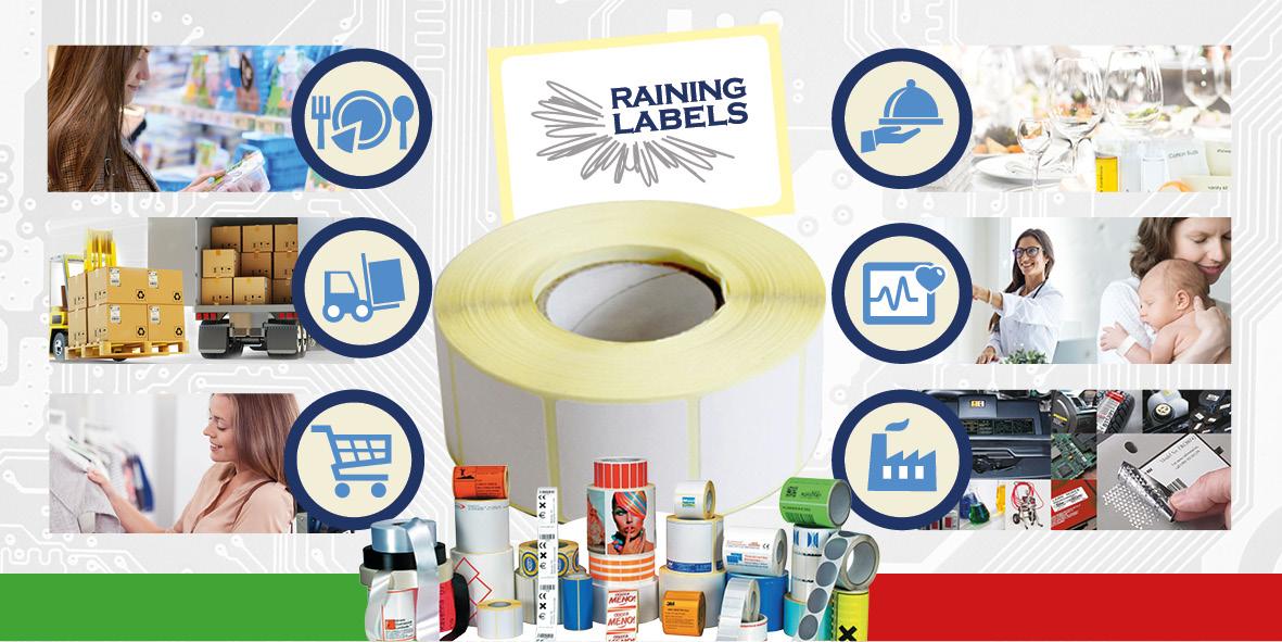 Etichette adesive Italia